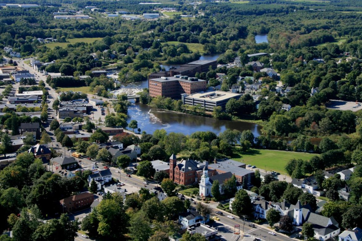 Westbrook Maine Aerial
